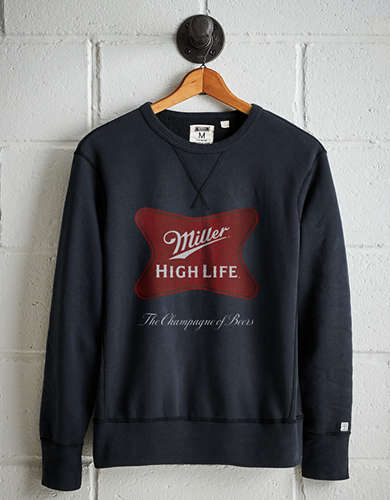 Tailgate Men's Miller High Life Fleece Sweatshirt - Free Returns