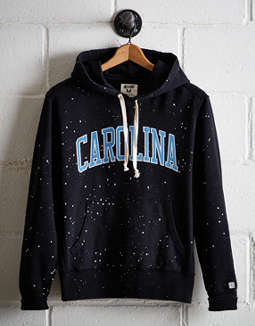 Tailgate Men's UNC Splatter Fleece Hoodie