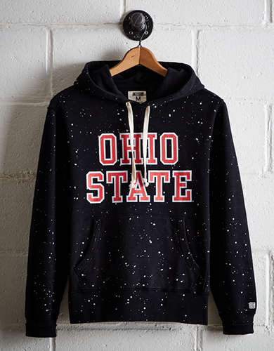 Tailgate Men's Ohio State Splatter Fleece Hoodie - Free Returns