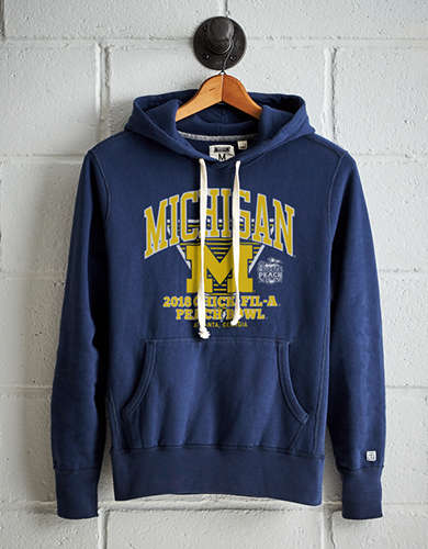 Tailgate Men's Michigan Peach Bowl Fleece Hoodie -