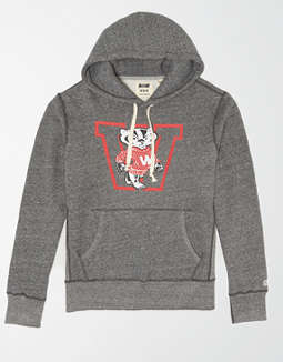 Tailgate Men's Wisconsin Mad Town Fleece Hoodie