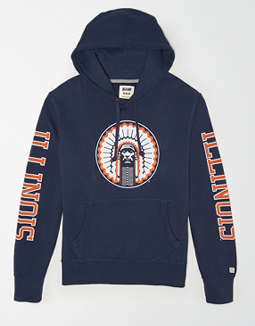 Tailgate Men's Illinois Fighting Illini Fleece Hoodie