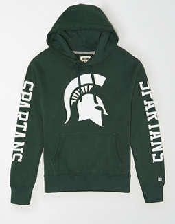 Tailgate Men's Michigan State Spartans Fleece Hoodie