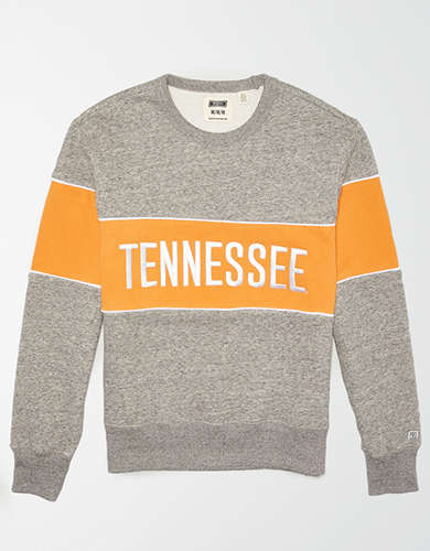 Tailgate Men's Tennessee Volunteers Colorblock Fleece Sweatshirt