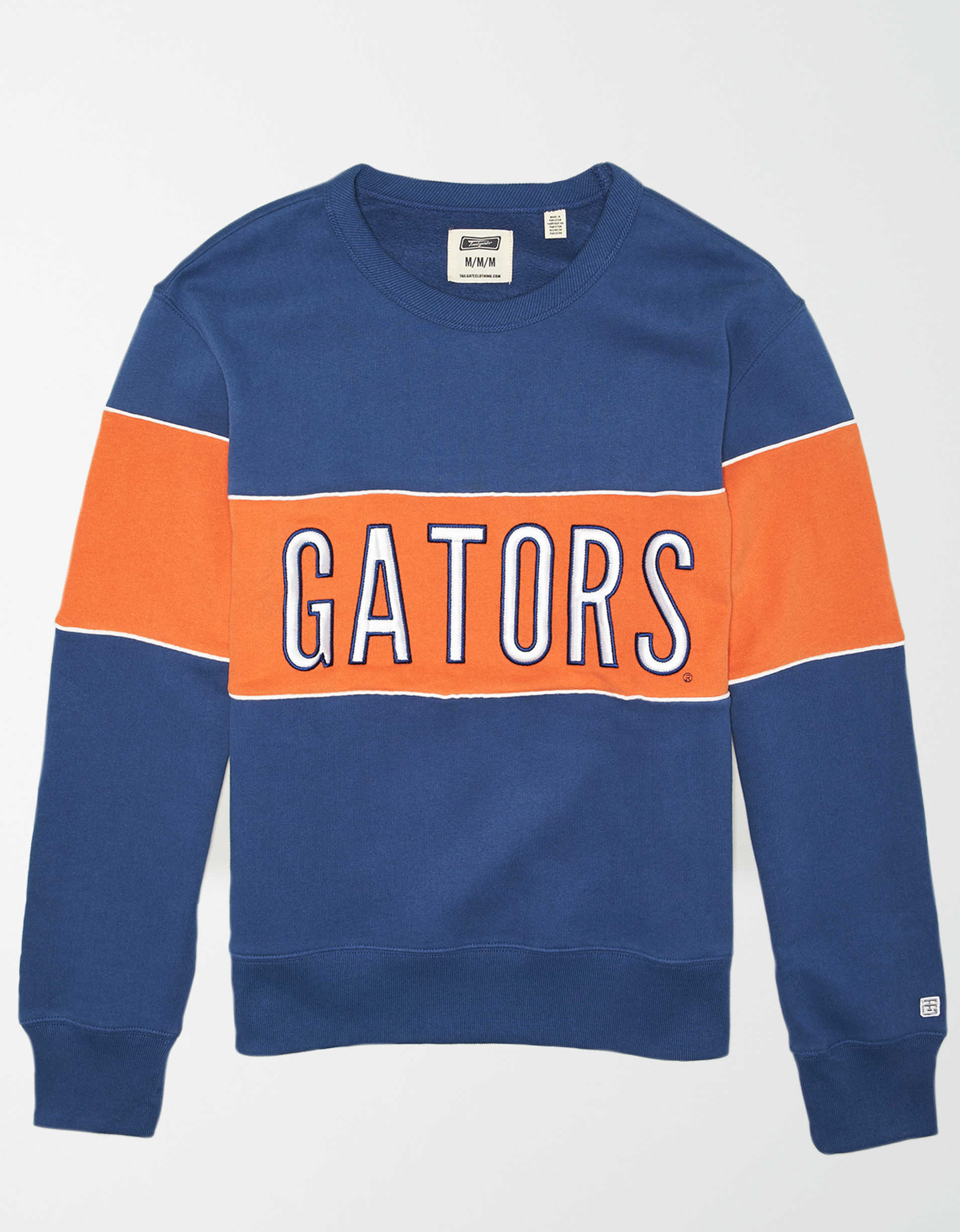 Tailgate Men's Florida Gators Colorblock Fleece Sweatshirt
