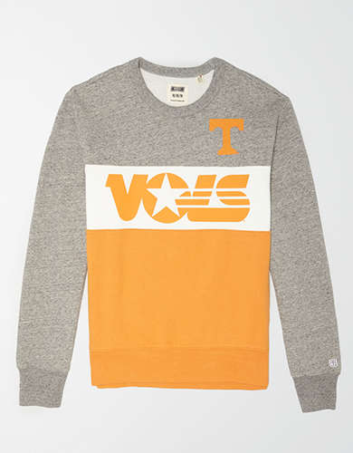 Tailgate Men's Tennessee Vols Colorblock Fleece Sweatshirt