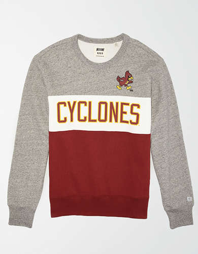 Tailgate Men's Iowa State Cyclones Colorblock Fleece Sweatshirt