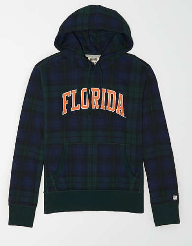 Tailgate Men's Florida Gators Plaid Fleece Hoodie