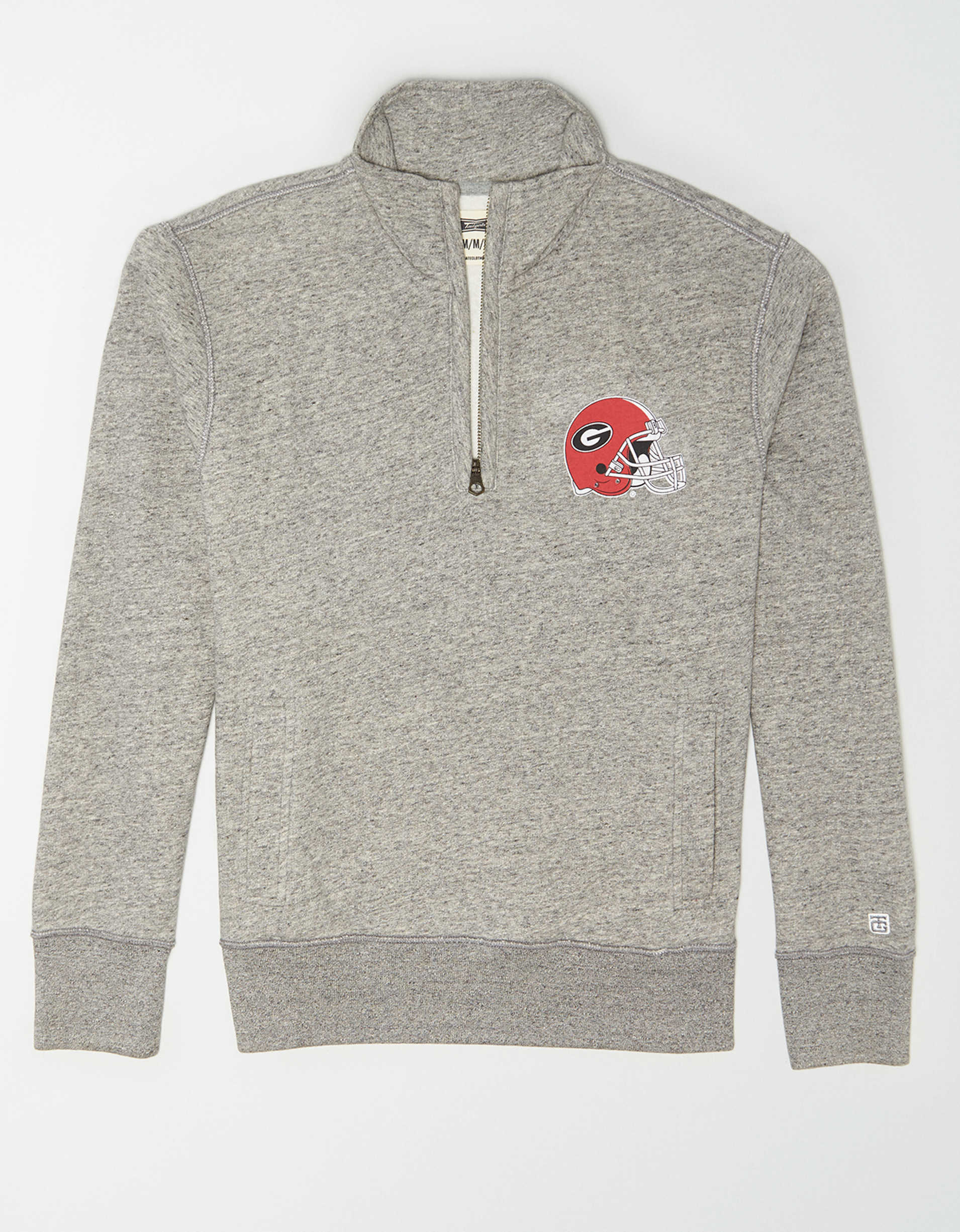Tailgate Men's Georgia Bulldogs Quarter Zip Sweatshirt