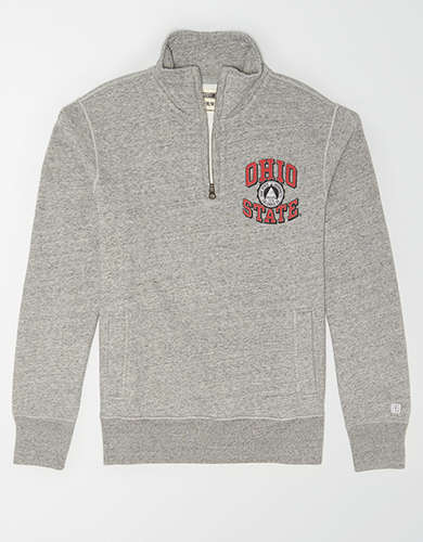Tailgate Men's Ohio State Quarter Zip Sweatshirt