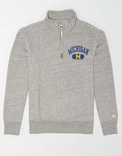 Tailgate Men's Michigan Quarter Zip Sweatshirt