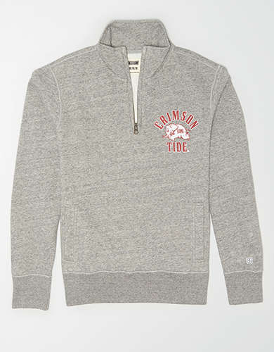 Tailgate Men's Alabama Quarter Zip Sweatshirt