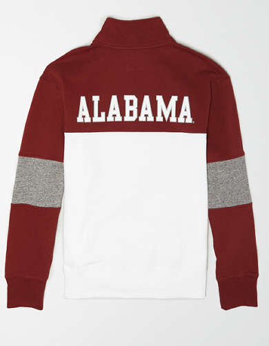 Tailgate Men's Alabama Crimson Tide Quarter-Zip Sweatshirt