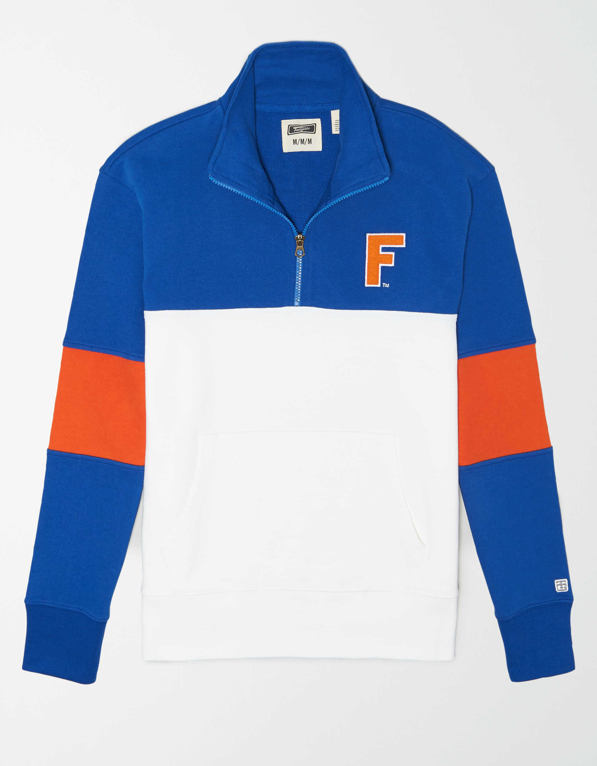Tailgate Men's Florida Gators Quarter-Zip Sweatshirt