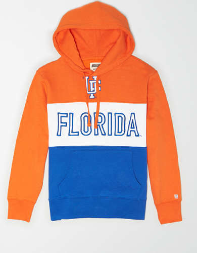 Tailgate Men's Florida Gators Colorblock Hoodie