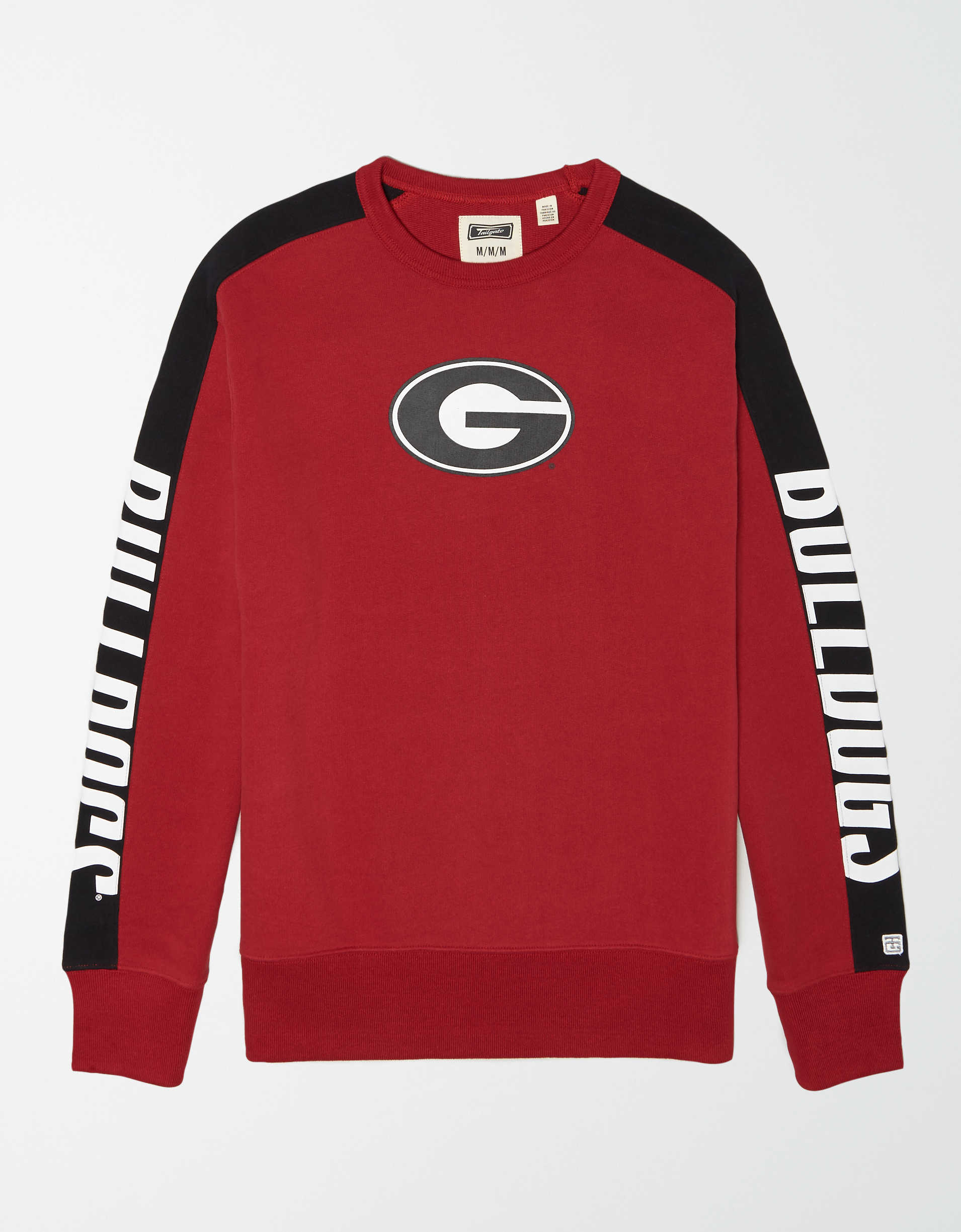 Tailgate Men's Georgia Bulldogs Crew Sweatshirt