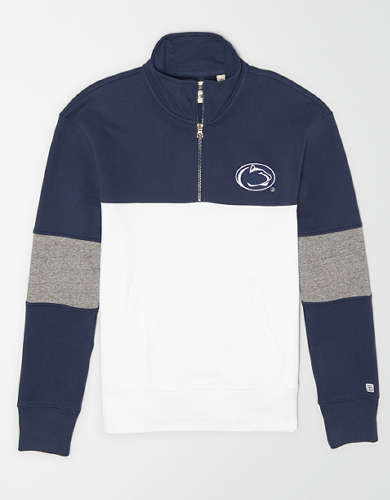 Tailgate Men's PSU Nittany Lions Quarter-Zip Sweatshirt
