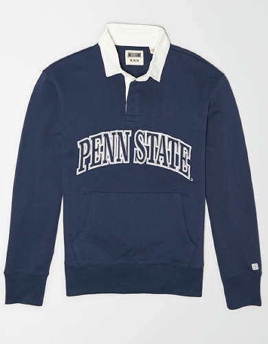 Tailgate Men's Penn State Terry Fleece Rugby