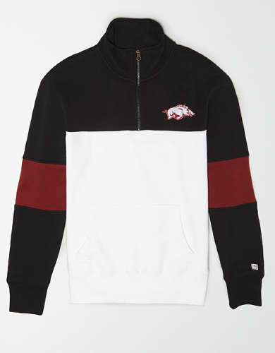 Tailgate Men's Arkansas Razorbacks Quarter-Zip Sweatshirt