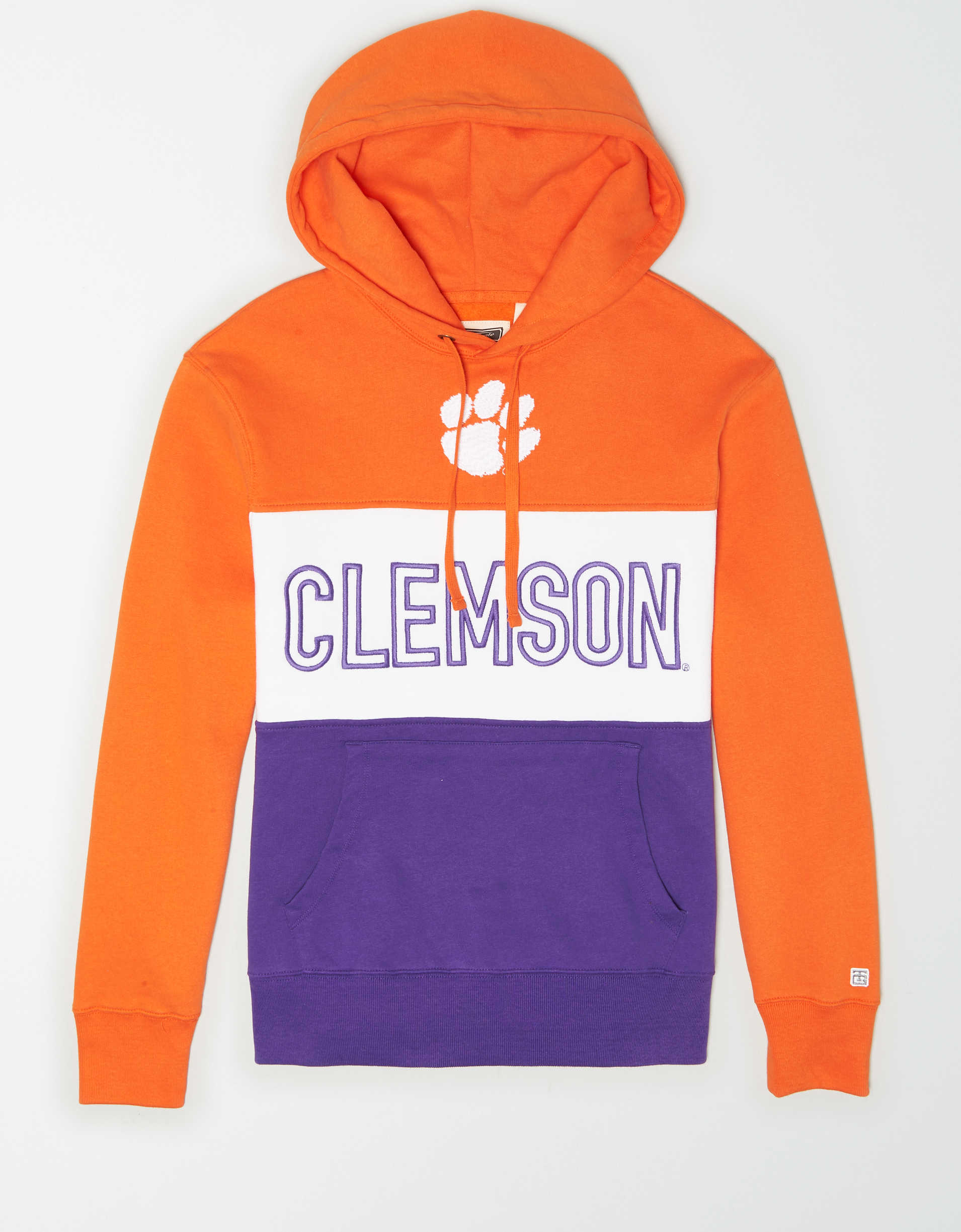 Tailgate Men's Clemson Tigers Colorblock Hoodie