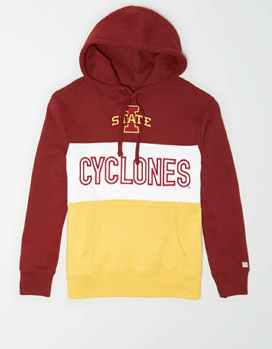 Tailgate Men's Iowa State Cyclones Colorblock Hoodie