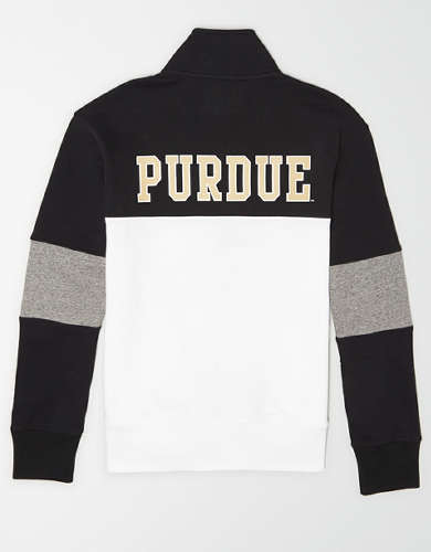 Tailgate Men's Purdue Boilermakers Quarter-Zip Sweatshirt