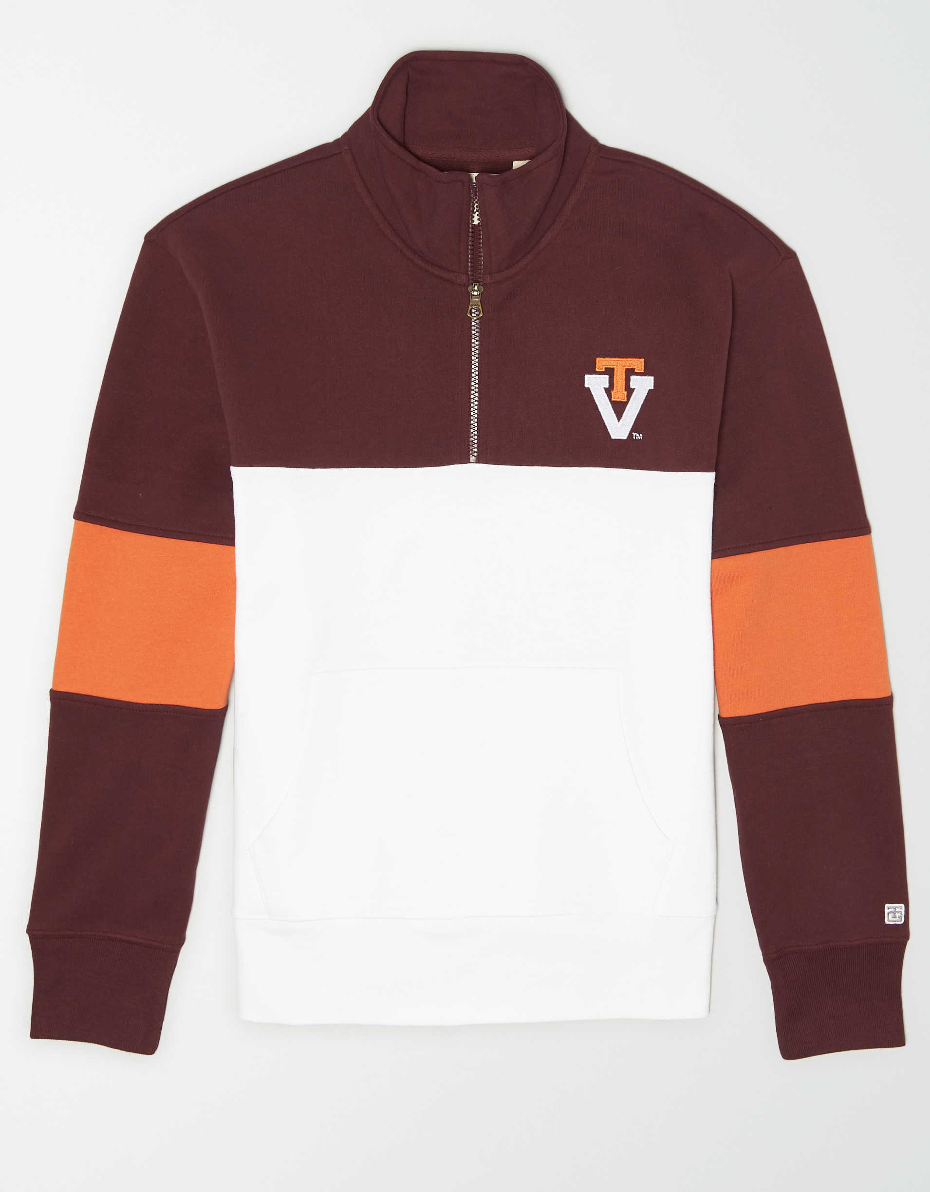 Tailgate Men's Virginia Tech Hokies Quarter-Zip Sweatshirt