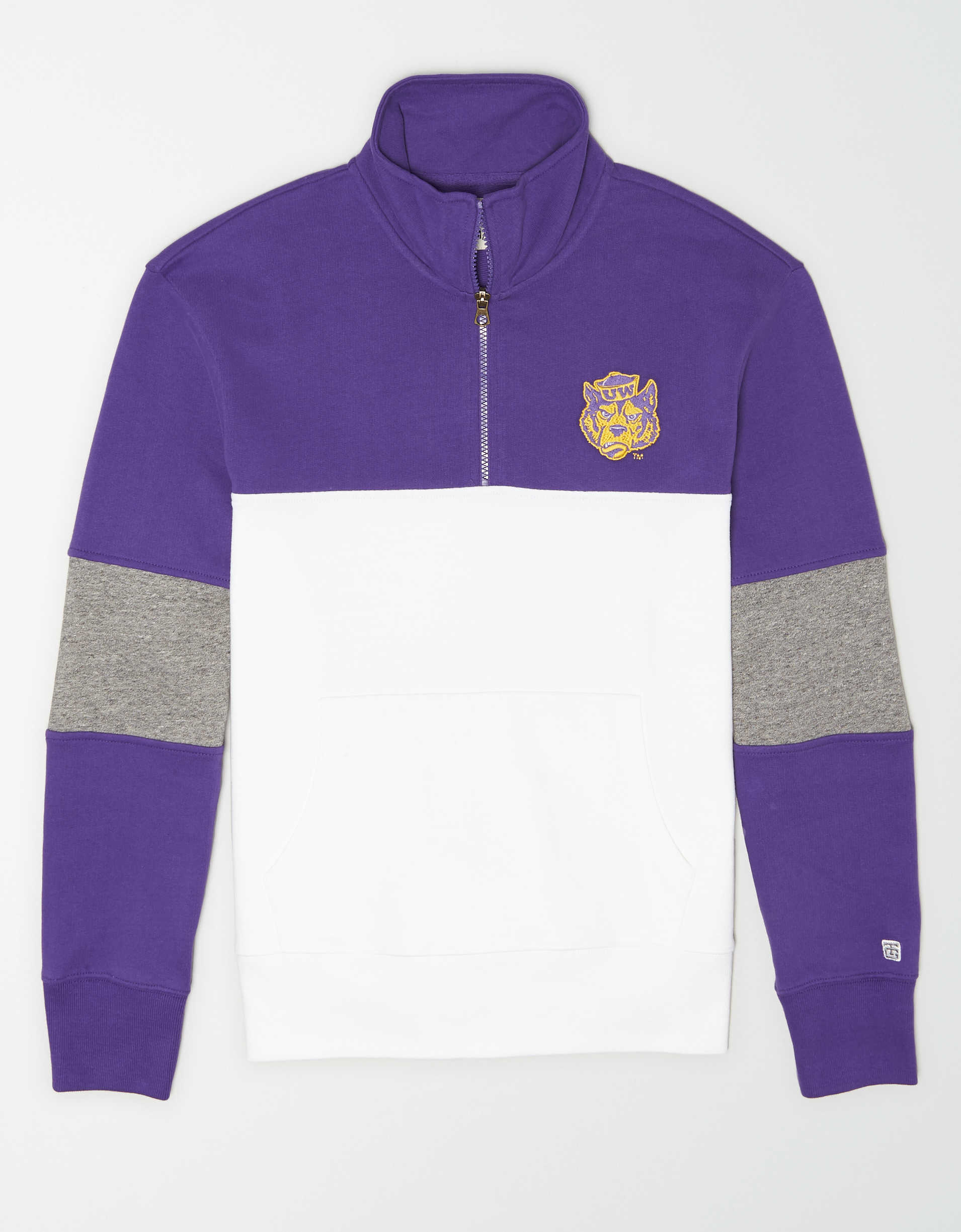 Tailgate Men's Washington Huskies Quarter-Zip Sweatshirt