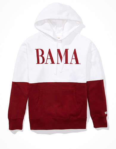 Tailgate Men's Alabama Crimson Tide Colorblock Hoodie