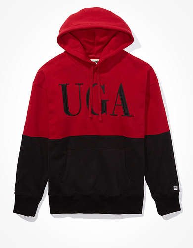 Tailgate Men's Georgia Bulldogs Colorblock Hoodie