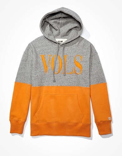 Tailgate Men's Tennessee Volunteers Colorblock Hoodie