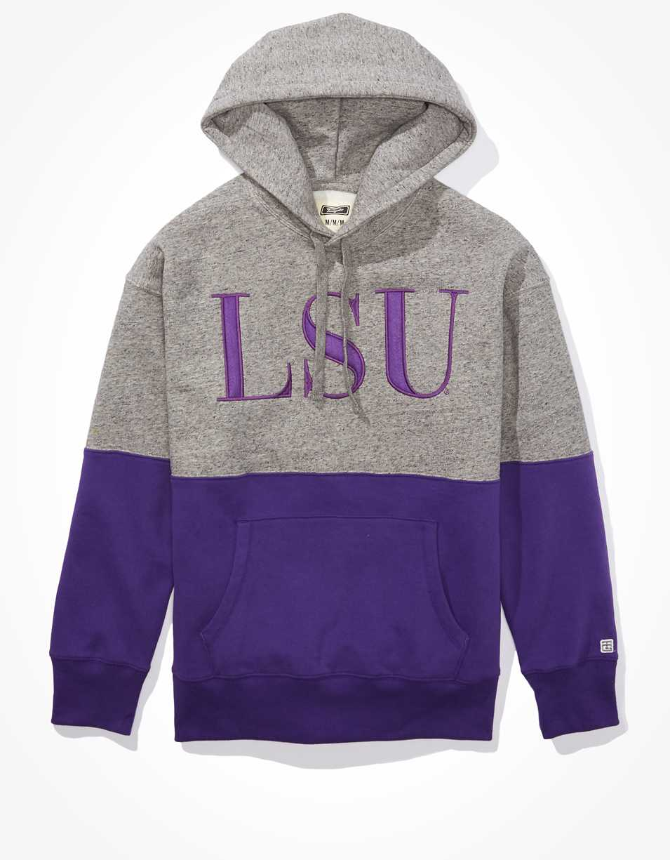 Tailgate Men's LSU Tigers Colorblock Hoodie