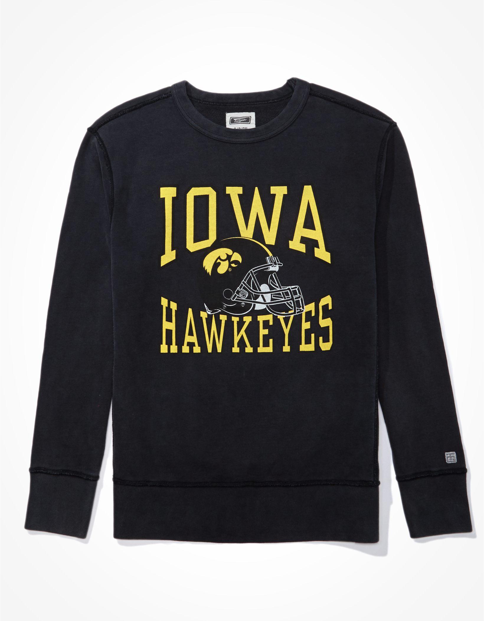Tailgate Men's Iowa Hawkeyes Crewneck Sweatshirt