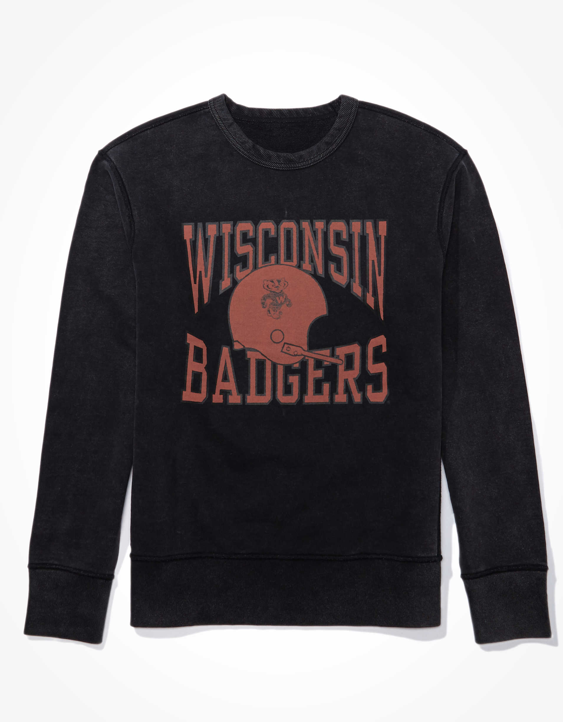 Tailgate Men's Wisconsin Badgers Crew Neck Sweatshirt