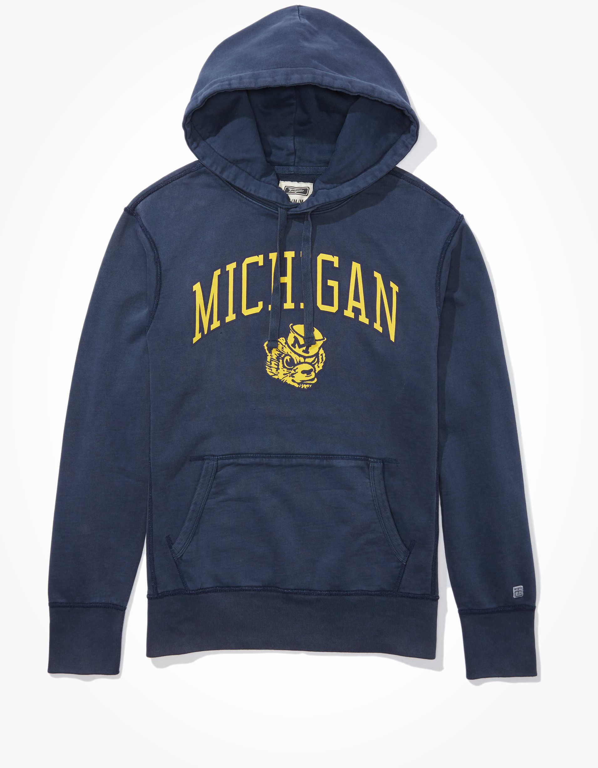 Tailgate Men's Michigan Wolverines Graphic Hoodie