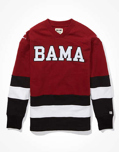 Tailgate Men's Alabama Crimson Tide Hockey Sweatshirt