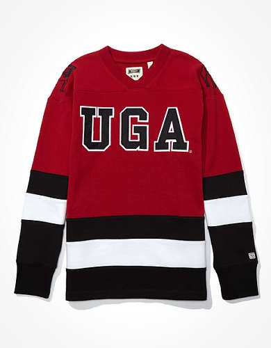 Tailgate Men's Georgia Bulldogs Hockey Sweatshirt