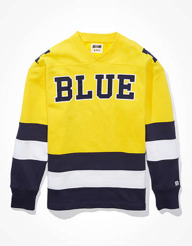 Tailgate Men's Michigan Wolverines Hockey Sweatshirt