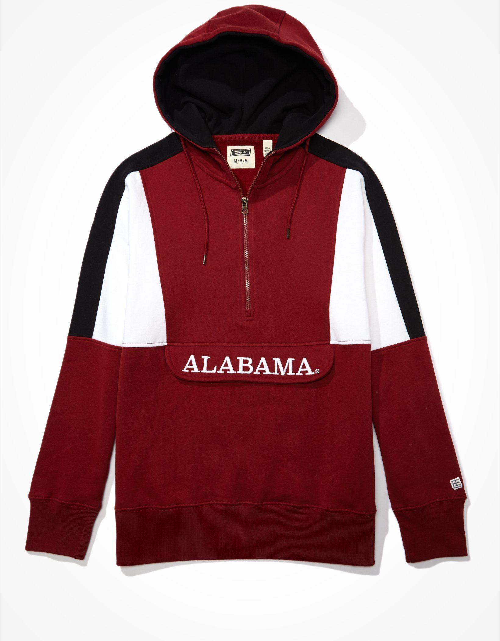 Tailgate Men's Alabama Crimson Tide Anorak Hoodie