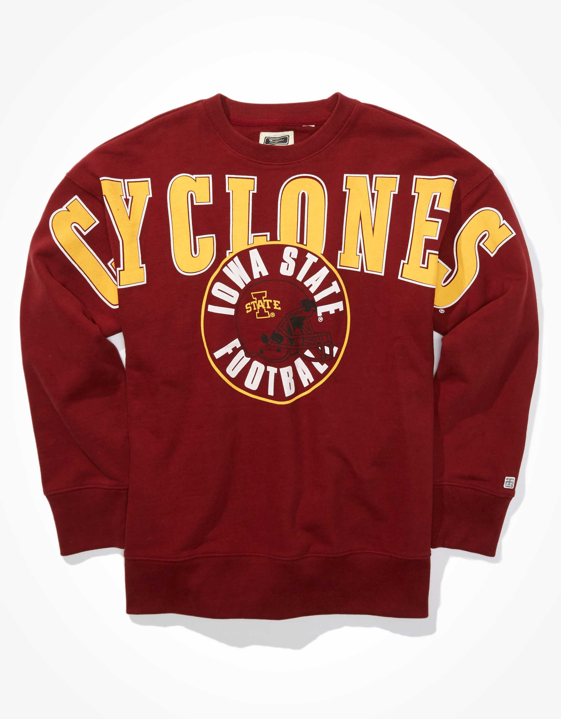 Tailgate Men's ISU Cyclones Oversized Graphic Sweatshirt