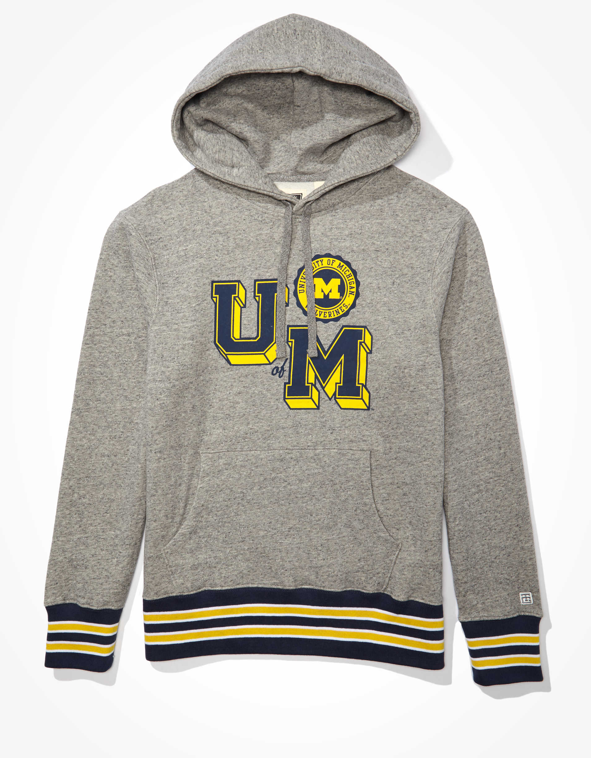 Tailgate Men's Michigan Wolverines Tipped Hoodie