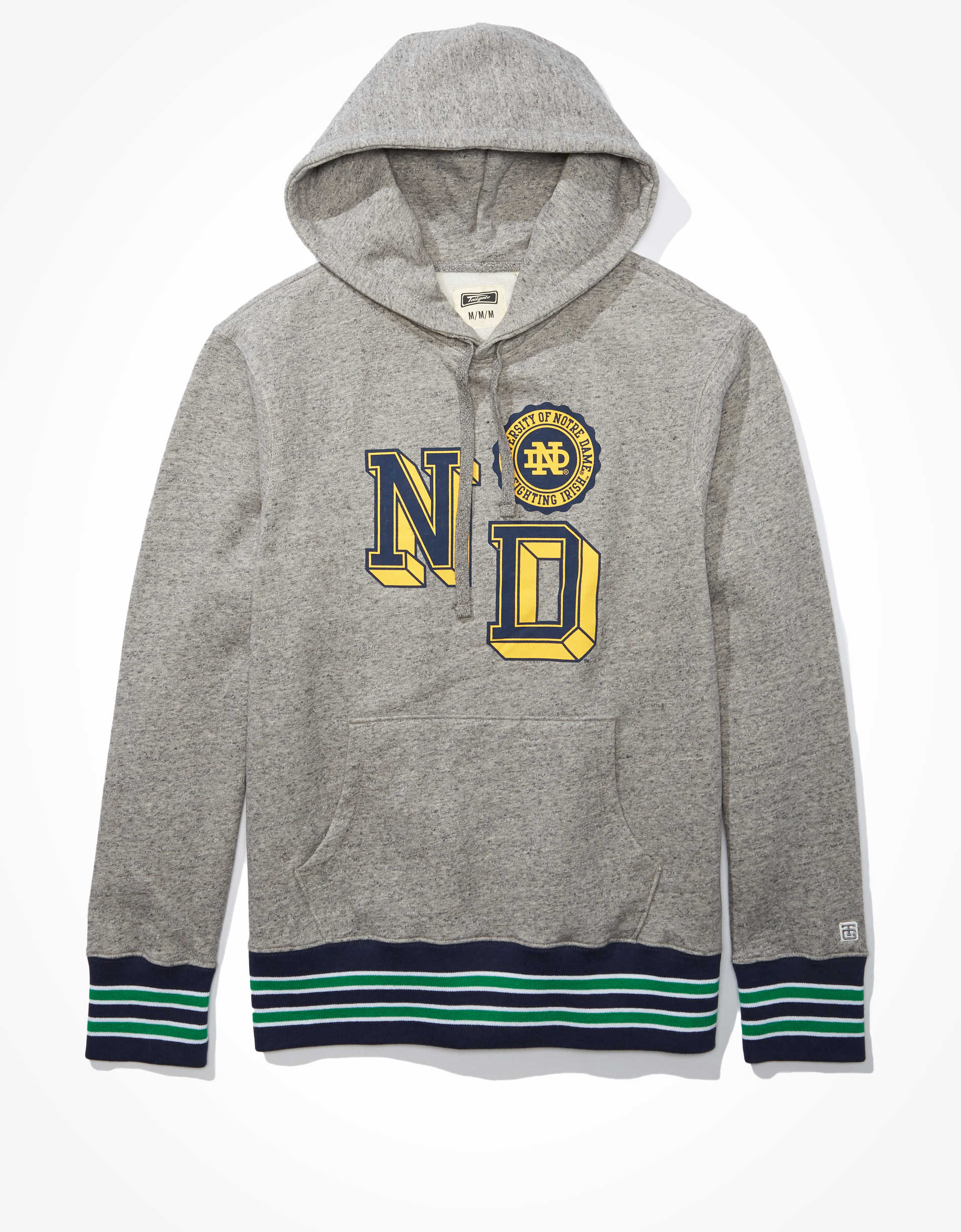 Tailgate Men's Notre Dame Fighting Irish Tipped Hoodie