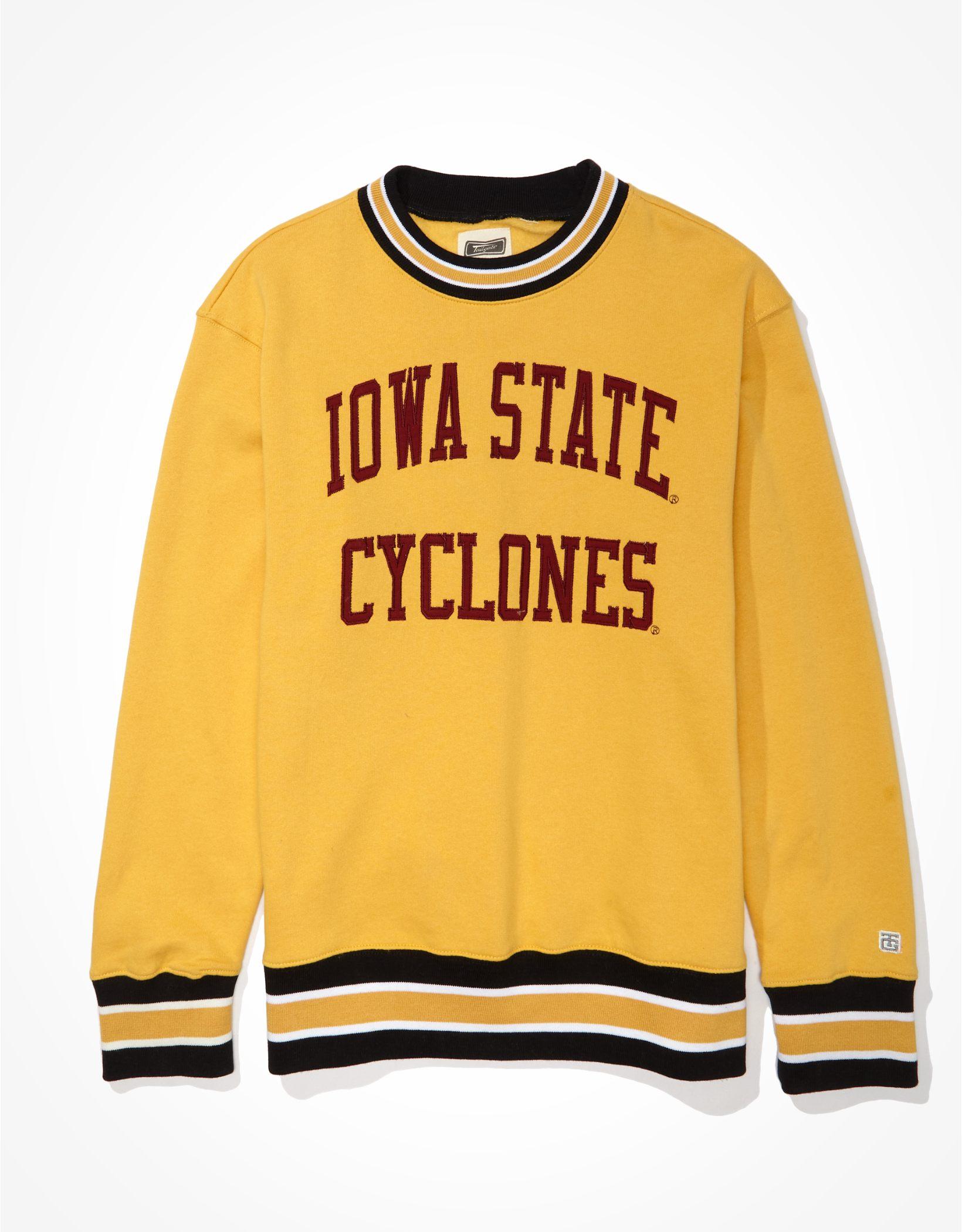 Tailgate Men's Iowa State Cyclones Tipped Fleece Sweatshirt
