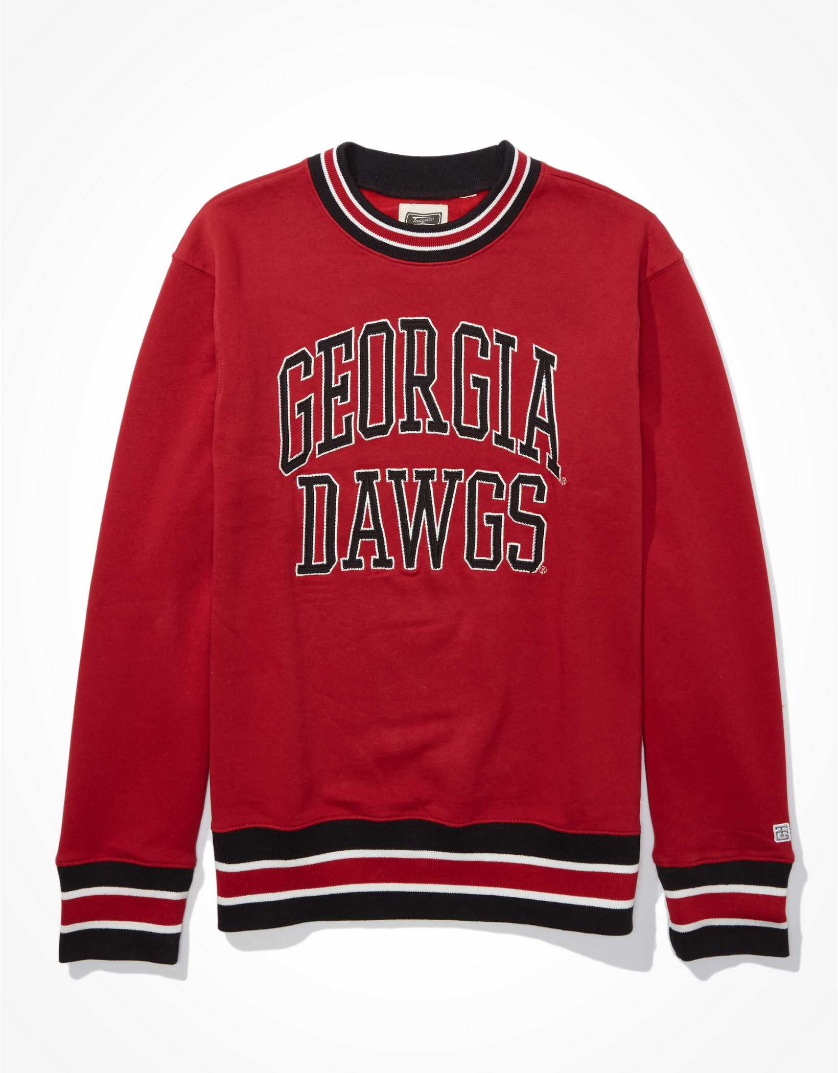 Tailgate Men's Georgia Bulldogs Tipped Fleece Sweatshirt