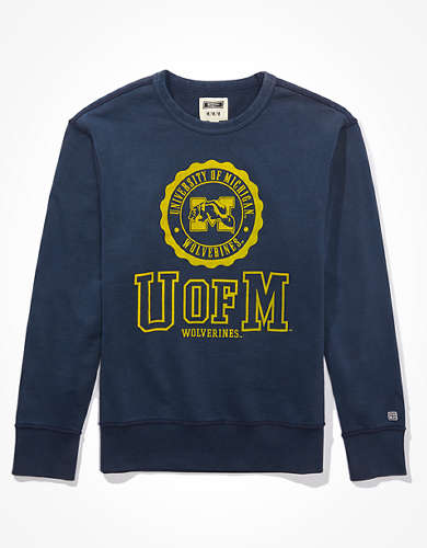 Tailgate Men's Michigan Wolverines Terry Fleece Sweatshirt