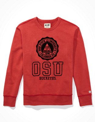 Tailgate Men's OSU Buckeyes Terry Fleece Sweatshirt   American Eagle