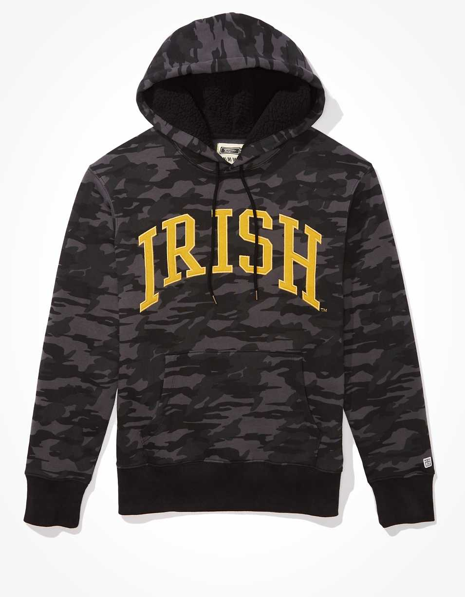 Tailgate Men's Notre Dame Sherpa Lined Hoodie