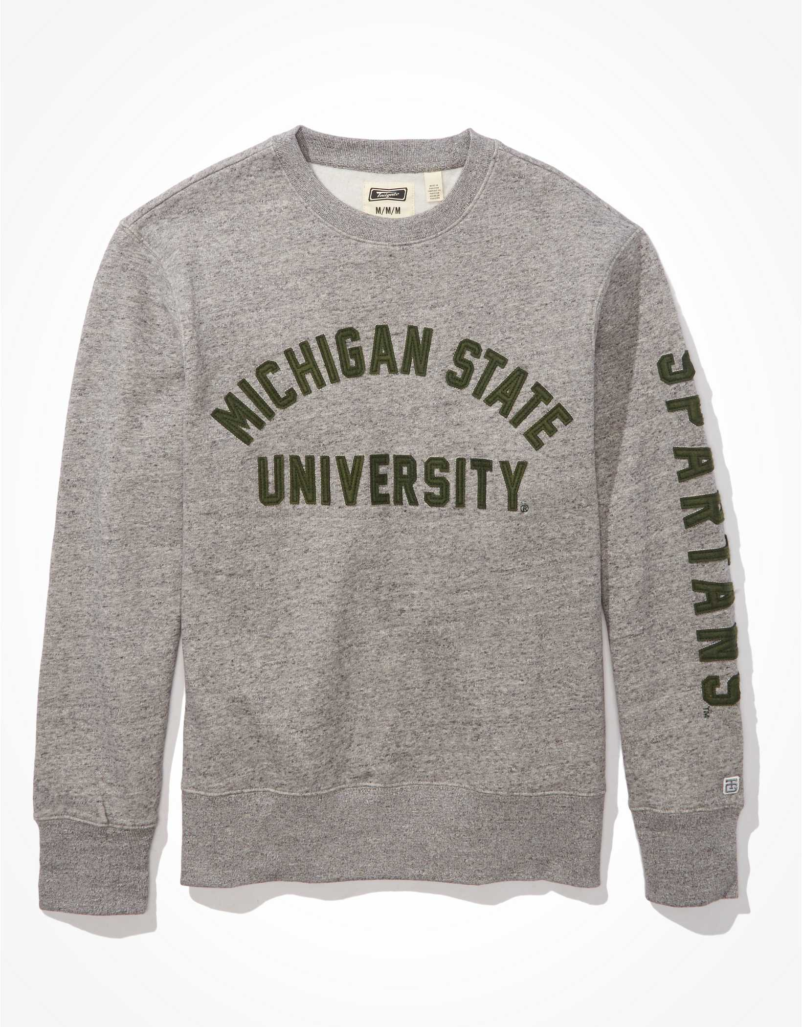 Tailgate Men's Michigan State Fleece Sweatshirt