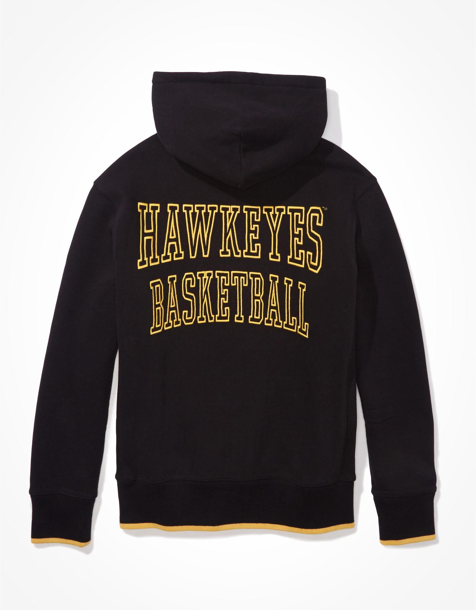 Tailgate Men's Iowa Hawkeyes Tipped Hoodie
