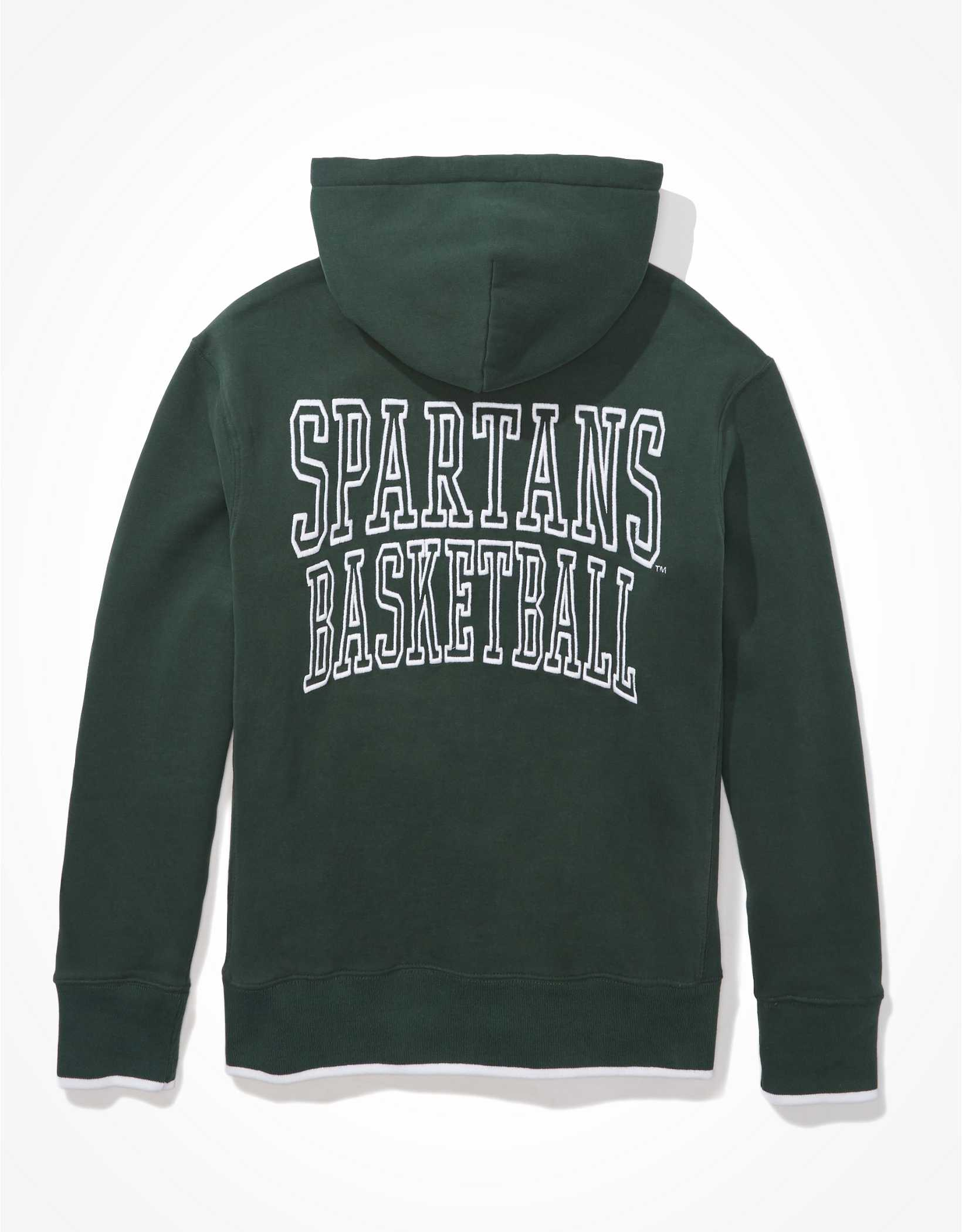 Tailgate Men's Michigan State Spartans Tipped Hoodie